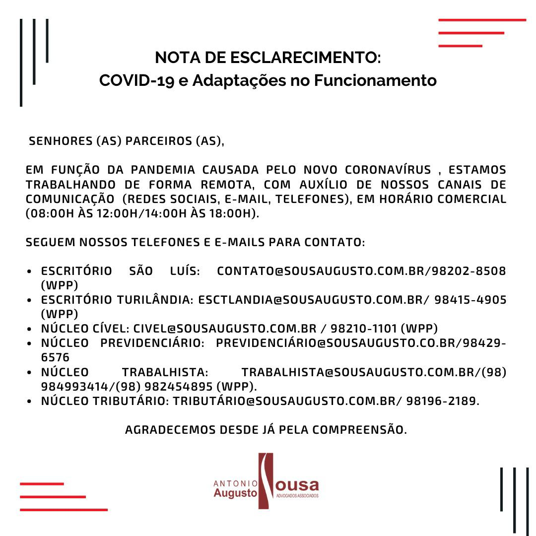 Read more about the article Funcionamento – Sousa Augusto Advogados