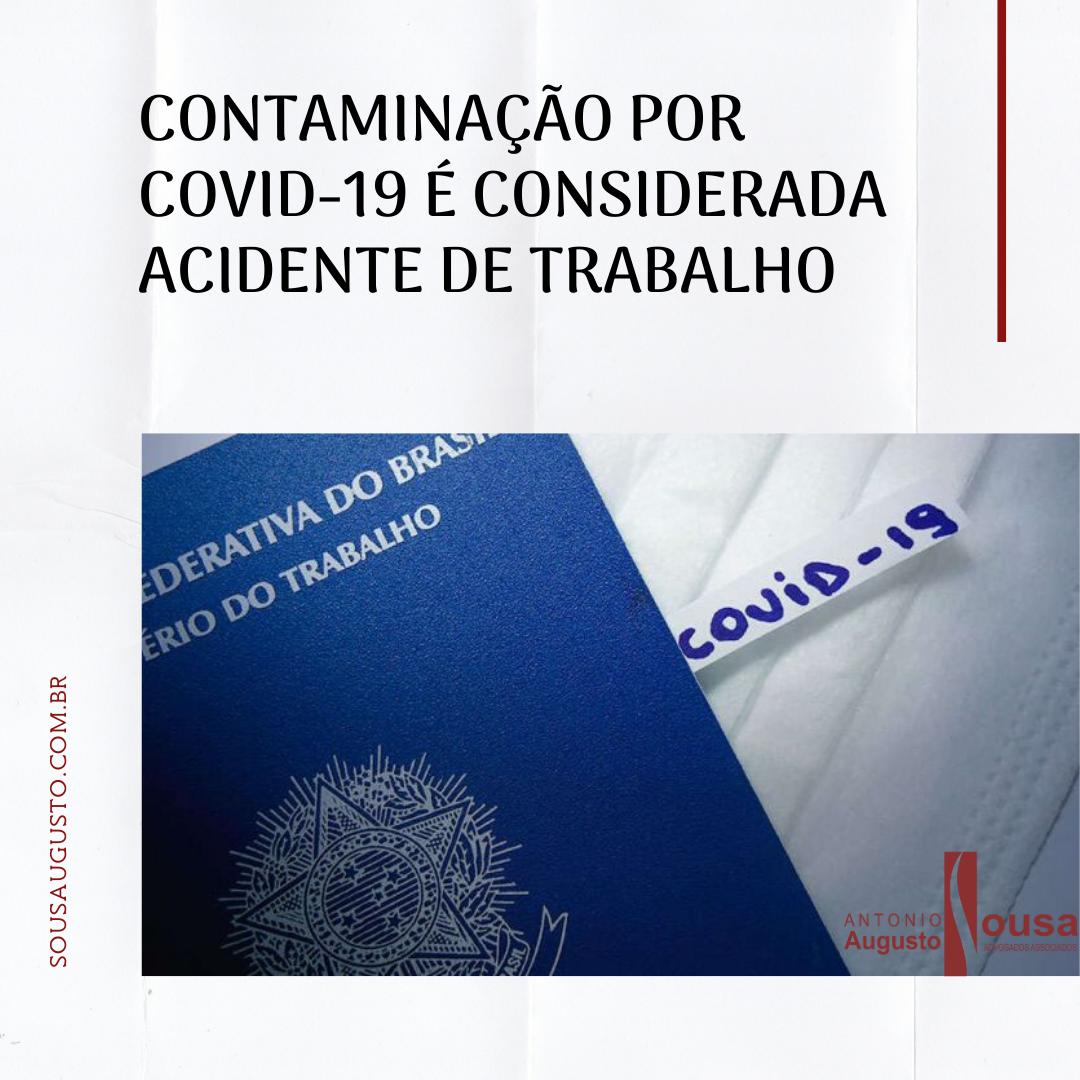 Read more about the article Contaminação por Covid-19 é considerada acidente de trabalho